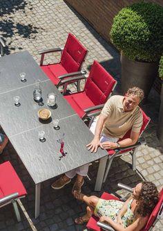 Table allongeable LOFT de Kettler - www.jardin-en-terrasse.com