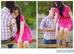 Adorable engagement shoot.