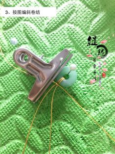 金线蜗牛锁骨链教程-手工客官网 Macrame, Headphones, Headpieces, Ear Phones
