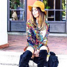 Boho style com essa bata (que virou vestido) da @mariaflorjaragua  tão tão tão linda. #mariaflor5anos