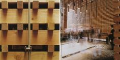 Peter Zumthor, Padiglione della Svizzera, Expo 2000, Hannover Prefab system