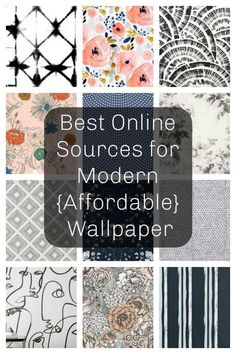 Best Online Sources For Modern Wallpaper Best Online Sources For Modern Affordable Wallpaper Wallpaper Ideas Modern Wallpaper Wallpaper Accent Wall Bedroom Wallpaper Accent Wall, Accent Walls In Living Room, Wall Wallpaper, Wallpaper For Home, Home Depot Wallpaper, Half Bathroom Wallpaper, Stick On Wallpaper, Bathroom Accent Wall, Painted Wallpaper