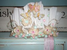 paper crown for spring by houseatfroghollow, via Flickr