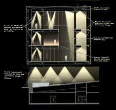 Proyecto de Iluminación: Museo de la Memoria / LLD-Limarí Lighting Design. Image Cortesía de LLD-Limarí Lighting Design