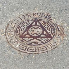 Manhole cover on Monterrey Blvd. #manhole #cover #lid #urban #design