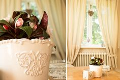 Shabby Chic vase and flower