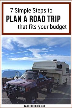 This post will help you figure out how to plan a road trip on a budget. From dreaming to realistic planning based on your family's budget, we'll help you finally plan and take that road trip!