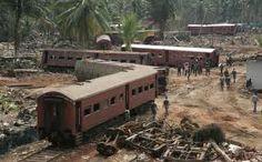 train hit by 2004 sri lanka tsunami.