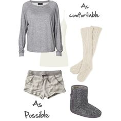 """""""As comfortable as possible"""" by nmarieoutfits on Polyvore"""