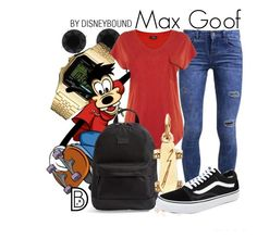 """""""Max Goof"""" by leslieakay ❤ liked on Polyvore"""