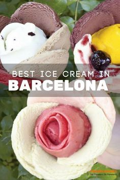 On in independent cruise excursion in Barcelona, save time for ice cream! The Best Ice Cream Stores in Barcelona Spain. Cinque Terre, Mykonos, Tapas, Valence, Barcelona Travel, Food In Barcelona, Best Ice Cream, Spain And Portugal, Eurotrip