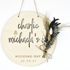 We are in love with our new range and this Personalised Contempoary Wedding Wreath will be a favourite both on your big day and for years to come.  Measuring 27cm in diameter and personalised with names and a date, this large wall plaque will look stunning both on your wedding day and in your home.  It also makes for an amazing backdrop for Zoom calls if you are touching base with friends and loved ones on your big day and comes complete with luxury, low maintainence dried flowers. Biodegradable Confetti, Biodegradable Products, Wedding Wreaths, Wedding Flowers, Zoom Call, Wedding Confetti, Personalized Wedding Gifts, Wedding Anniversary Gifts, On Your Wedding Day