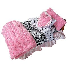 @Overstock - Brand: Ann Loren 7-piece Damask Bedding Set for American Girl Dolls Model: AG-BED-DAMASKhttp://www.overstock.com/Sports-Toys/Ann-Loren-7-piece-Damask-Bedding-Set-for-American-Girl-Dolls/6206672/product.html?CID=214117 $30.99
