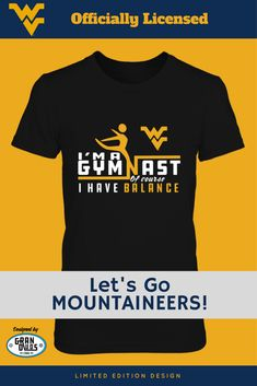 19524eaf4b West Virginia Mountaineer Gymnasts - GranDuds Design Officially licensed -  Available on FanPrint! NCAA Gymnastics