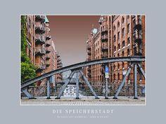 'Die Speicherstadt' von Dirk h. Wendt bei artflakes.com als Poster oder Kunstdruck $19.41