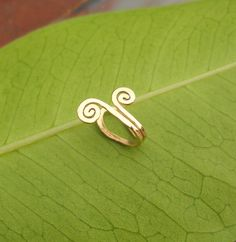Tragus/Nose/Ear Cuff 14K Yellow Gold Filled by Holylandstreasures, $10.95