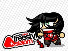 Freestyle slalom!