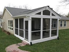 Porches & Screened Room Gallery - HNH Deck and Porch, Screened Porch Designs, Screened In Patio, Pergola Designs, Pergola Patio, Pergola Ideas, Pergola Plans, Front Porch, Pergola Shade, Patio Design