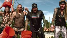 Steel Panther making the Ice Bucket Challenge