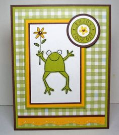Hoppy Birthday by peebsmama - Cards and Paper Crafts at Splitcoaststampers