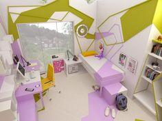 Amazing bedroom for teen girl