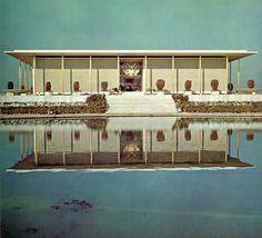 U.S. Embassy, New Delhi India (1959)   Edward Durell Stone