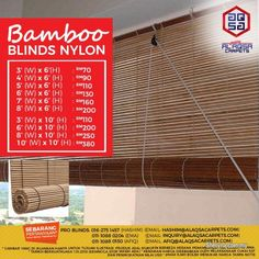 Other for sale, RM70 in Klang, Selangor, Malaysia. Cheapest Bamboo Blinds Supplier - Buy blinds   BAMBOO BLINDS - BEST BLINDS FOR WINDOWS JUST FROM RM