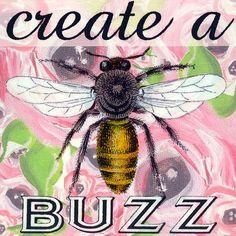 Oopsy Daisy Create a Buzz Canvas Art