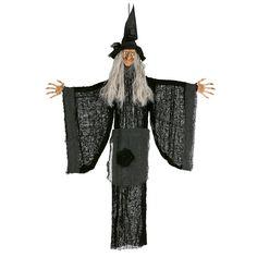 Colgante Bruja Halloween #decoraciónhalloween #fiestahalloween
