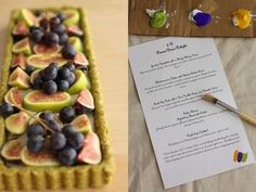 Fig Tarts with Pear-Vanilla Creme and Pistachio Crust