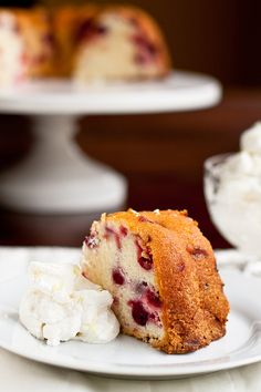 Cream Cheese-Cranberry Cake | Confections of a Foodie Bride