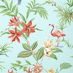 Fabulous Flamingo Wallpaper - The Glam Pad