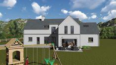mod057 House Designs Ireland, Furniture Ideas, House Plans, House Ideas, Houses, Mansions, House Styles, Board, Home Decor