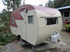 1957 Cardinal Trailer - $5500 OH THE OLD VISCOUNT CARAVAN  MY NAN AND GRANDAD LIVED IN,  IN OUR BACKYARD WHEN THEY FIRST CAME HERE FROM ENGLAND.