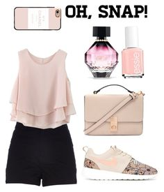 """""""Untitled #29"""" by alva-hillborg ❤ liked on Polyvore featuring beauty, River Island, Chicwish, Casetify, NIKE, Essie, Victoria's Secret and Forever 21"""