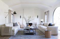 DISC Interiors: A Spanish Colonial Revival Home Transformed, LA Edition: Remodelista #DISCinteriors Living Room