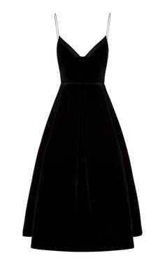 9b85967b5d4 This   Alex Perry   dress features a V neckline with a satin trim
