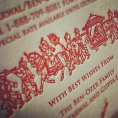 More Indian wedding event cards are on their way!