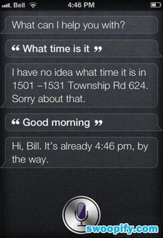 Siri: What Time Is It? #humor #lol #funny