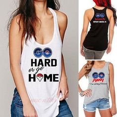 119c6a51 Model Number: Pokemon Go women Tank TopMaterial:  Cotton,PolyesterDecoration: NoneFabric Type: