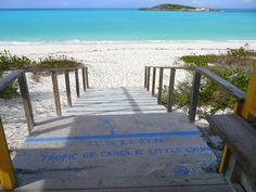 Tropic of Cancer Beach, Little Exuma Bahamas.