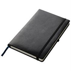 The Amcam Notebook is our personal favourite. This is a Moleskine type notebook with a padded cover, an elastic closure, great tear-out pages and a back pocket. These notebooks make excellent corporate gifts and are available in and sizes. A5 Notebook, Notebook Ideas, Brand Innovation, End Of Year, Gadget Gifts, Business Gifts, Rubber Bands, Business Branding, Corporate Gifts