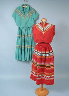 Seminole Woman's Outfit, 1940s