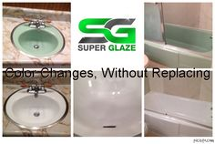 Now, #bathroom re-modeling is no more a frustrating job. If you want to give a new look to your bathroom then #Super #Glaze is there for you. #Bath #remodeling will change old traditional #bathroom into a stylish one within the budget.