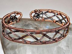 Copper Lattice Cuff My gosh, this doesn't appear hard at all, and I LOVE it!