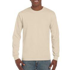 f0e73fc6b569 Gildan Mens Classic Long Sleeve T-Shirt