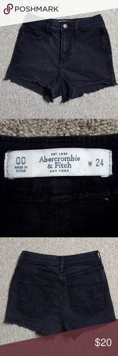 Abercrombie and Fitch high rise shorts Cute high rise shorts Abercrombie & Fitch Shorts Jean Shorts