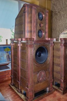 - Steampunk Speakers by  Dmitriy Tihonenko