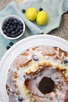 Make this Lemon Blueberry Bundt Cake Recipes. It is an easy and delicious bundt cake recipe that is moist and full of flavor!
