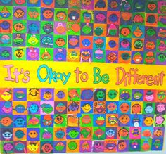 """153 Likes, 9 Comments - Cassie Stephens (@cassie_stephenz) on Instagram: """"Finally got around to blogging about our #itsokaytobedifferent #toddparr mural! Check it out at…"""""""